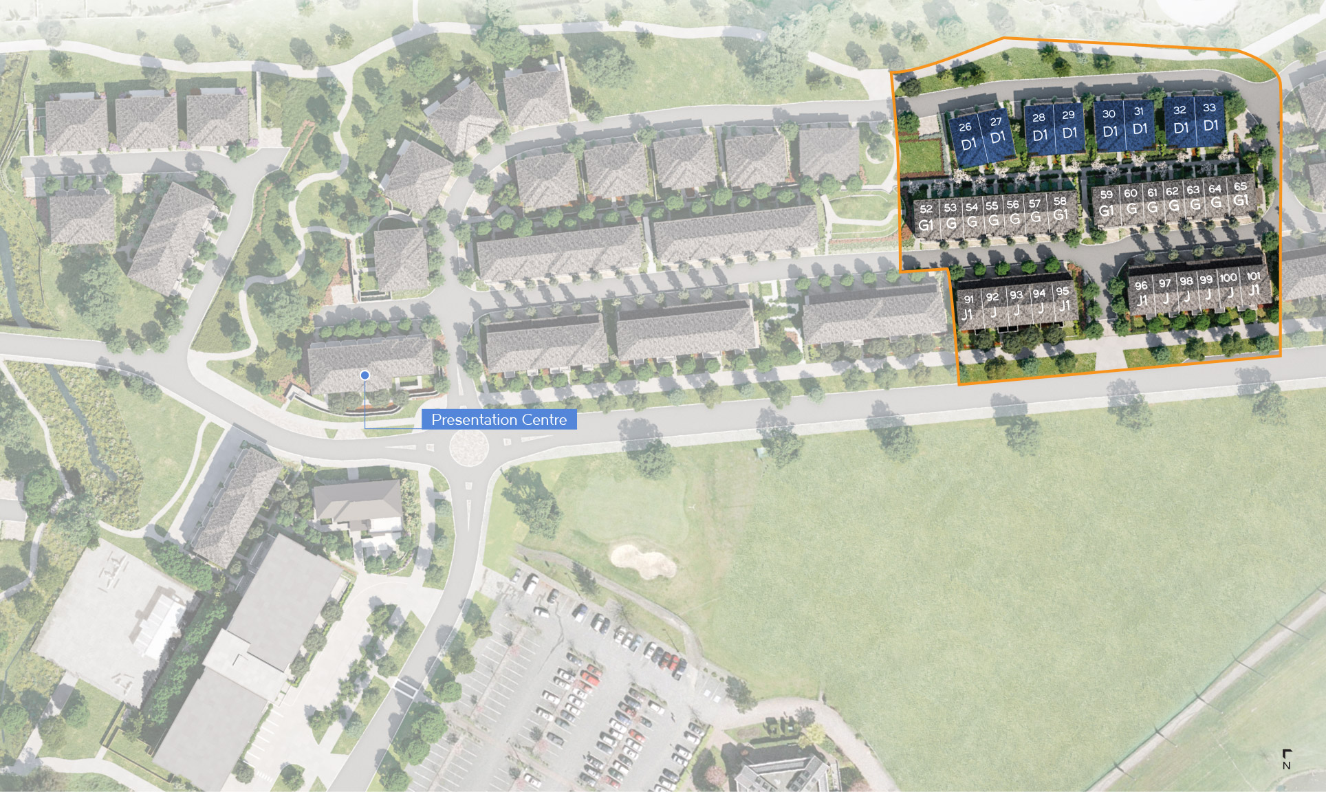 Site Plan - 4 Bed